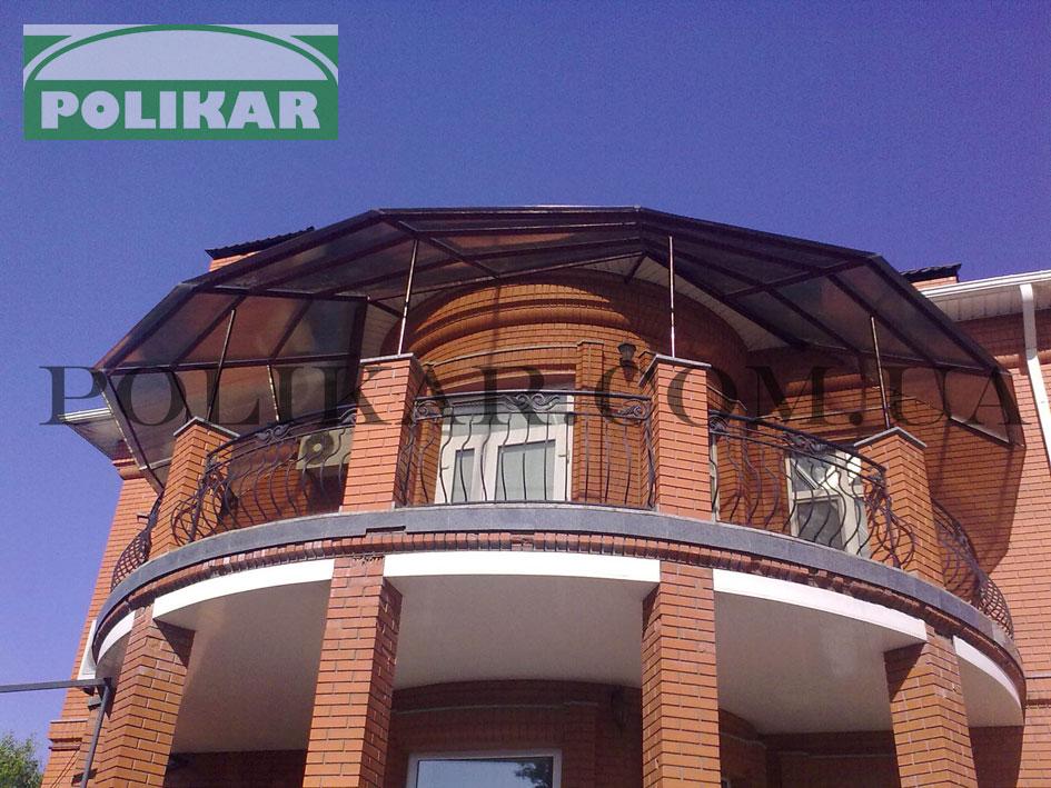 Купольные крыши балкона фото. - дизайн маленьких лоджий - ка.